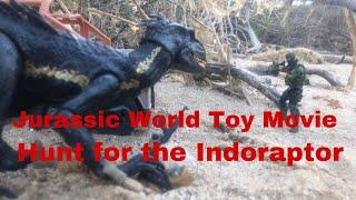 Jurassic World toy movie : Hunt for the Indoraptor part 1