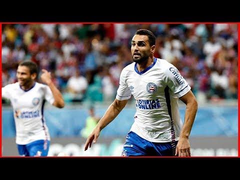 Bahia 2 X 0 Sport. Gols de Gilberto e Tiago (6/9/2018)