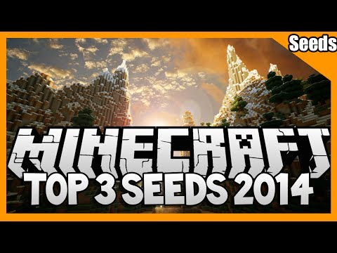 Top 3 Minecraft Seeds (Minecraft 1.7.4 Seed Spotlight) -  Best Seeds Ever 2014 [1080P HD]