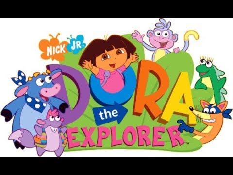 Kids Game for fun Dora learns English Babygaming