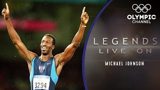 What is Athletics Icon Michael Johnson Doing Now?  Legends Live On