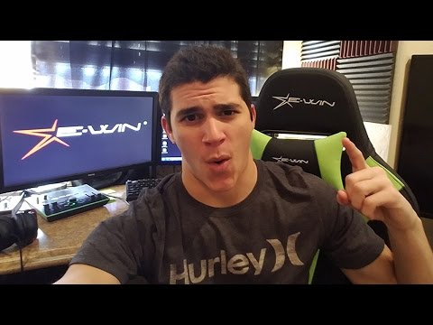 This Ewin Racing Chair is SICK!!! | Unboxing Review