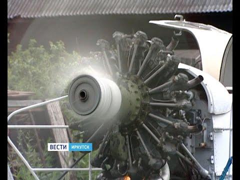Житель Зимы восстанавливает аэросани советских времён, Вести-Иркутск