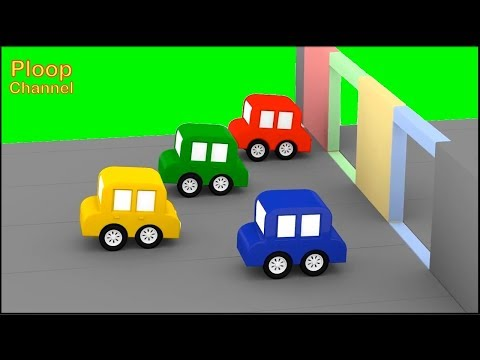 Cartoon Cars - MOVING WALLS RACE! - Cartoons for Children - Childrens Animation Videos for kids