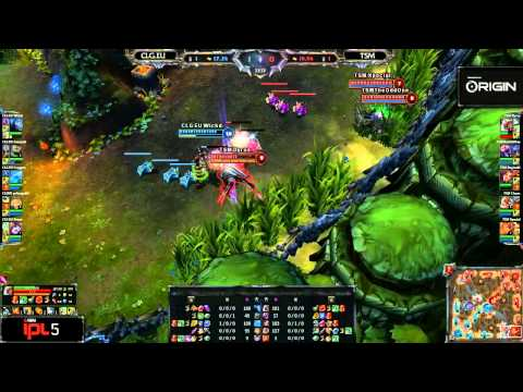 CLG EU vs TSM - Game 1 - IPL 5