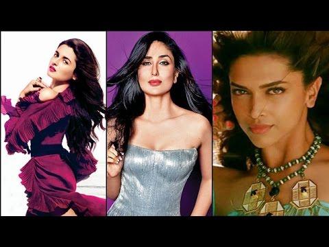 Alia Bhatt, Deepika Padukone, Kareena Kapoor - TIMES CELEBEX   Top 10 Actresses!