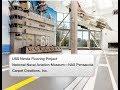 Timelapse Installation Video:  USS Nimitz Floor Project - National Naval Aviation Museum