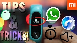 Mi Band HRX Edition Tips And Tricks And Secret Features-Part 2-Read Whatsapp Messages,Decline Calls