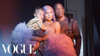 Behind Kylie Jenner's Glittering Met Gala Look | Vogue
