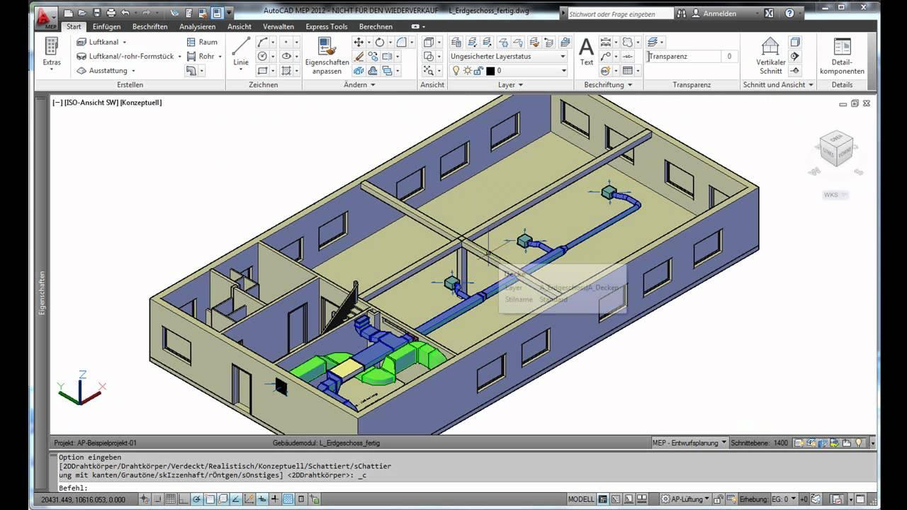 Autocad Mep 2012 Autocad Mep 2012 Effizientes