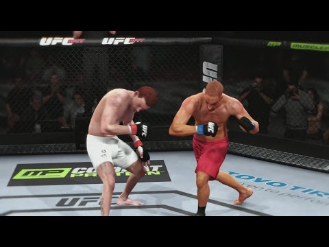 EA Sports UFC Career Mode - 1st Ability & Significant Strikes