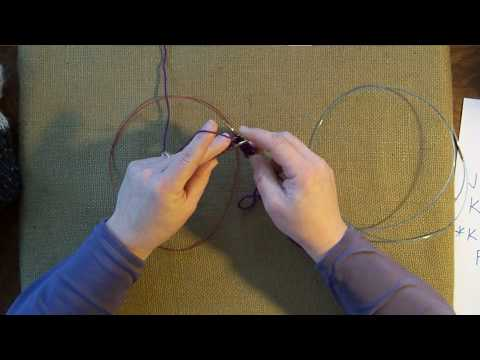 Tubular Cast On or Invisible Cast On - Knitting, Basic