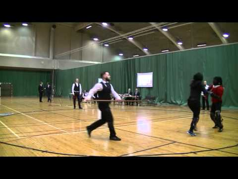 Helsinki Longsword Open 2016 - Women's Longsword bronze match