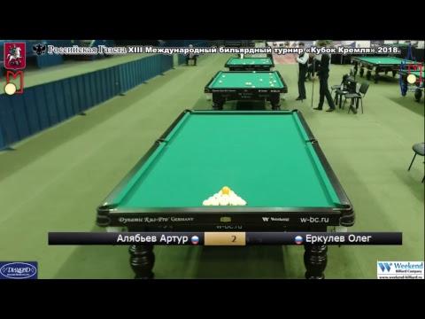 XIII Международный бильярдный турнир «Кубок Кремля» TV 11