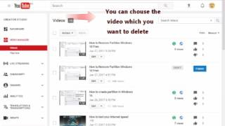 How to Delete ANY Video From YouTube