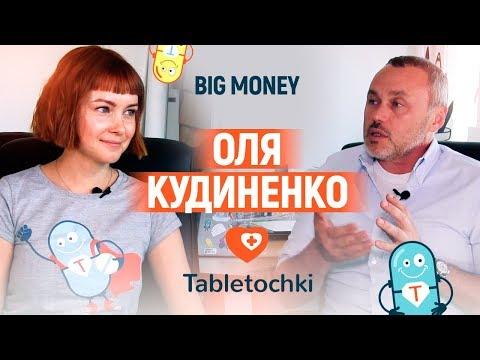 Оля Кудиненко. Фонд «Таблеточки». Про стратегию развития и предпринимателей   Big Money #35