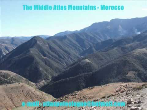 The Middle Atlas Mountains - Morocco Maroc - مناظرطبيعية من المغرب