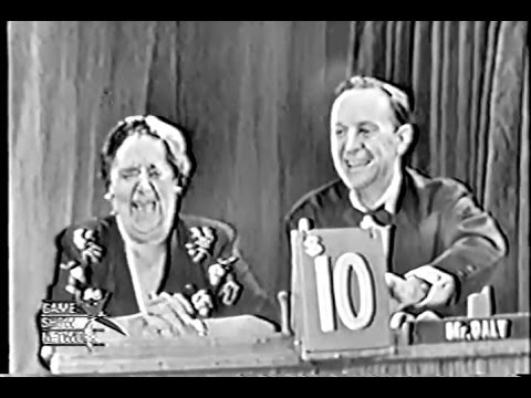 What's My Line? - Elsa Maxwell (Apr 12, 1950)