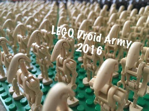 2016 Lego Star Wars Droid Army