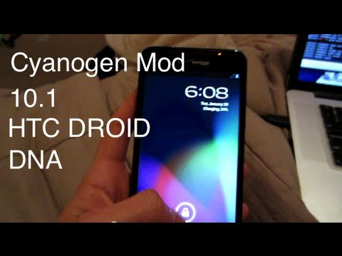 How To Install Cyanogen Mod 10.1 CM to HTC Droid DNA!