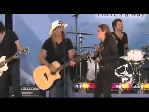 Bret Michaels and Miley Cyrus Every Rose Has It's Thorn