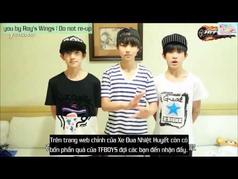 [Roy's Wings][Vietsub]TFBOYS giới thiệu Đua Xe Nhiệt Huyết