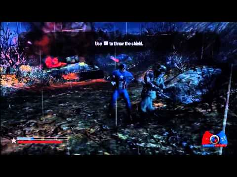 Captain America Super Soldier Walkthrough Part 1 (XBOX 360, PS3, WII, DS, 3DS)