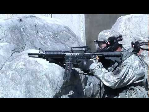 Military Combat Training with Spyder Paintball Markers