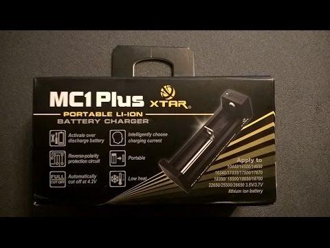 Компактное зарядное устройство для 18650 XTAR MC1 Plus
