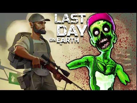 Last Day On Earth Survival почти выжил в зомби апокалипсисе в популярной игре на смартфон от fgtv
