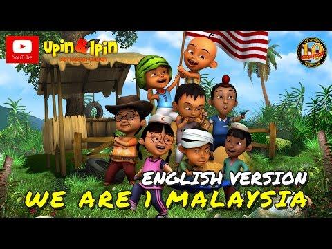 Upin & Ipin - We Are 1 Malaysia (English Version)