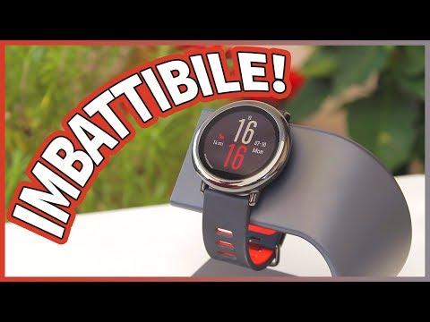 Xiaomi AMAZFIT Pace: lo smartwatch sportivo con ANDROID! - RECENSIONE