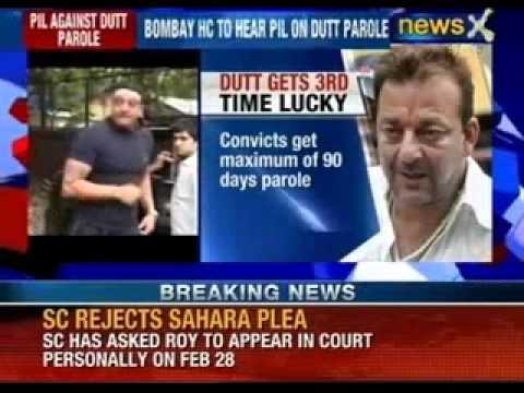 Bombay High Court to hear PIL on Sanjay Dutt parole