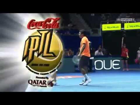 Roger Vasselin & Gajdosova vs Paes & Lucic Baroni FULL MATCH HD IPTL Singapore 2015