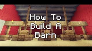 Minecraft Xbox 360: How To Build A Barn or Farm House