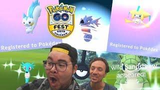 BEST POKÉMON GO DAY EVER! 6X NEW Shinies in 1 DAY! (Pokémon GO Fest 2019)