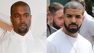 Drake OPENS UP About Rumored Kanye Feud, Says He Doesn