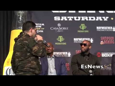 {MUST SEE} Angel Garcia Takes Mic From Translator At Final Presser EsNews Boxing