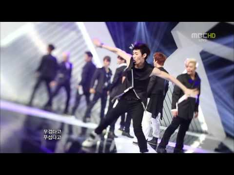 120707 Music Core - Super Junior - Sexy, Free & Single.mp4 video