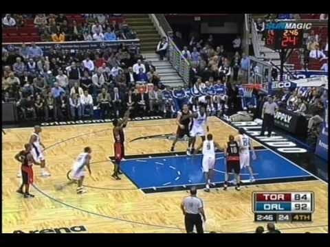 Chris Bosh: 40 pts, 18 reb vs. Magic (08-09 NBA)