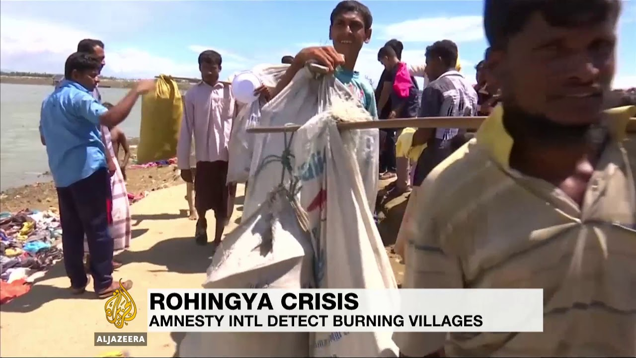 Myanmar uses scorched earth tactics in Rakhine: report