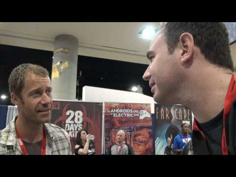 Colin Ferguson from Eureka at Comic Con 2010 Video