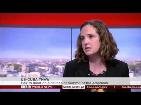 BBC World News: Helen Yaffe speaks about Raul and Obama's meeting in Panama April 2015