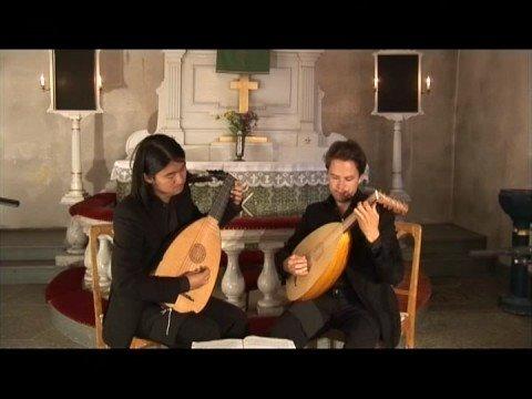 René Mesangeau & William Lawes - Courantes for 2 lutes