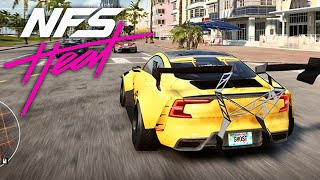 NEED FOR SPEED HEAT GAMEPLAY - Polestar 1 Customization & Police Chase (No Commentary)