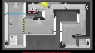 Portal The Flash Version Level 10 Game Walkthrough