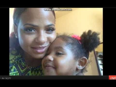 christina Milian ustream 7-7-2013- pt1 klip izle
