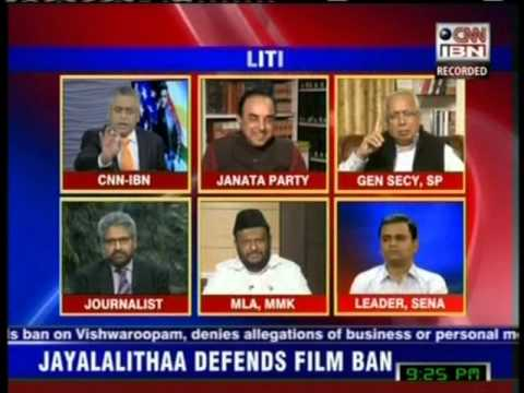 CNN-IBN TV - Intervention with M.H.Jawahirullah
