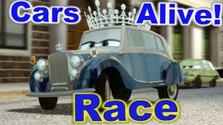 Cars 2: The video Game - The Queen - Race on Hyde Tour