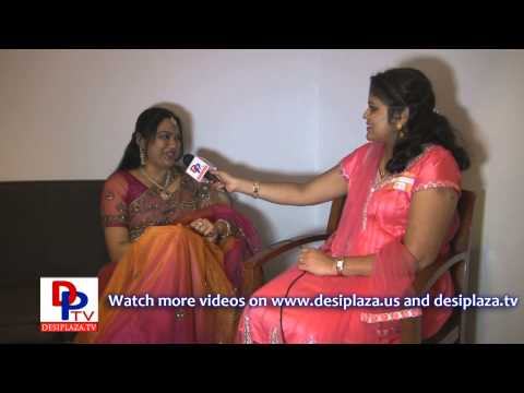 Hema, Actress, Artist Of Telugu Films Speaking To Desiplaza Tv. video